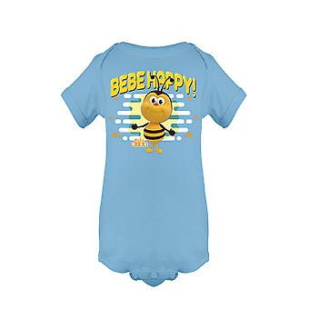 The Children's Kingdom Be-Bee Happy Bichikids Baby's Bodysuit
