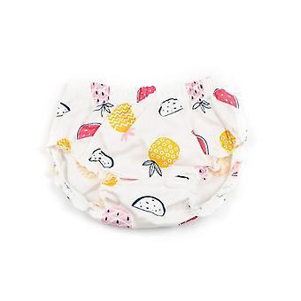 תינוק פורח פירות אננס מודפס קפלים כותנה כיסוי חיתול כיסוי תינוק