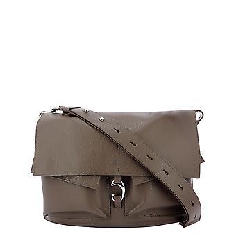 Orciani B02090microncorteccia Women's Brown Leather Shoulder Bag