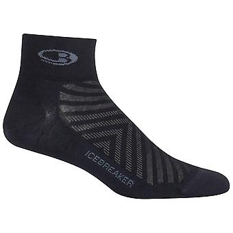 Icebreaker Black Mens RunMini Sock