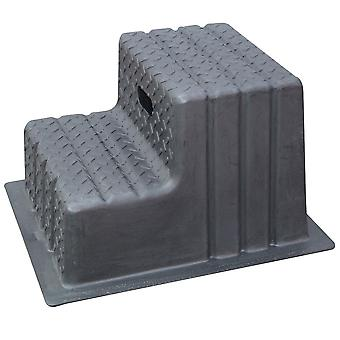 Classic Showjumps Two Tread Mounting Block