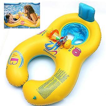 Gonfiabile Madre Baby Float Cerchio Anello Giocattolo - Piscina spiaggia per bambini