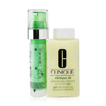 Clinique Id Dramatycznie inny żel do kontroli oleju + aktywny koncentrat kasety dla delikatnej skóry - 125ml/4.2oz