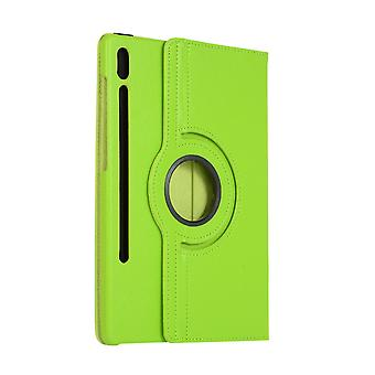 Rotatable folio leather case for Samsung Galaxy Tab A 10.1 2019 T510/T515 green