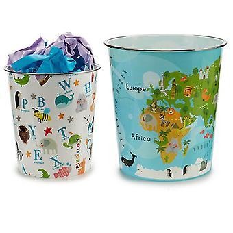 Çöp Kutusu Plastik (23 x 24,5 x 23 cm)