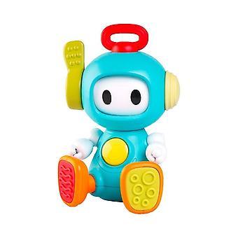 Infantino sensory elasto robot, fun cause and effect, multi textured