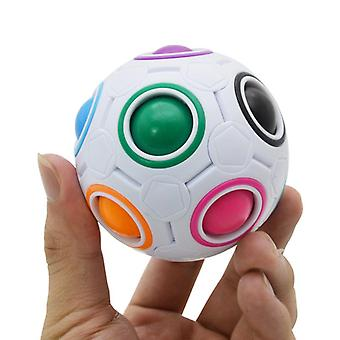 Magic Rainbow Palapelit Luova Labyrintti, Fidget Ball Autism Anti Stressi Lelu