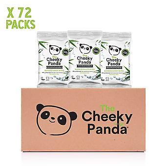 Cheeky Panda Biodegradable Bamboo Handy Wipes 12's x72