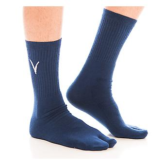 Athletic Flip-flop Mid-calf Socks