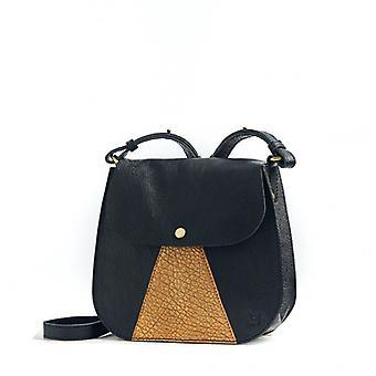 L'Orgueilleux - Black / Gold - Bubble Leather