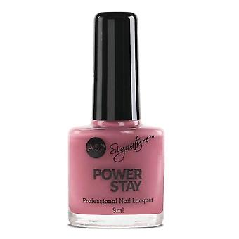 ASP Power Stay Professional Nail Lacquer - Vintage Rose