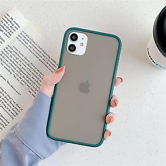 Mint Hybrid Simple Matte Bumper Phone Case Cover