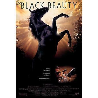 Musta kaunotar elokuvan juliste tulosta (27 x 40)