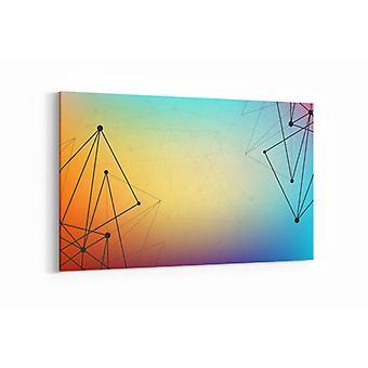 Schilderij - Abstract Art — 100x70cm