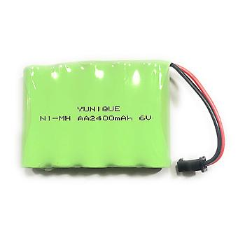 Rechargeable battery 6v ni-mh2400mah for remote control car