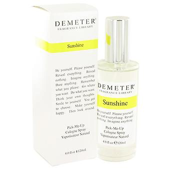 Demeter Sunshine Cologne Spray By Demeter 4 oz Cologne Spray