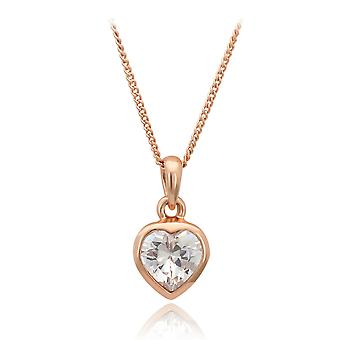 Romantic Crystal Heart Necklace