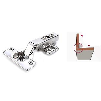 Stainless Steel Door Hydraulic Hinges, Damper Buffer Soft Close For Cabinet