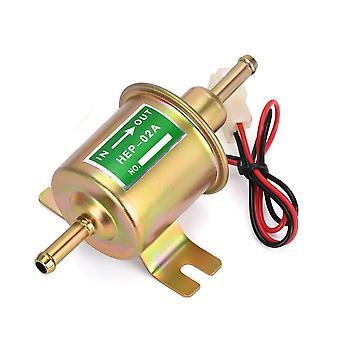 12v مضخة الوقود الكهربائي انخفاض ضغط بولت إصلاح سلك الديزل البنزين Hep-02a