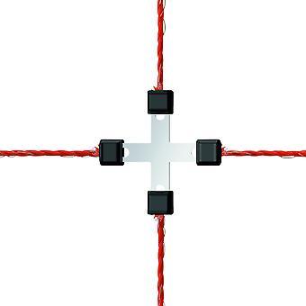 Corral Wire Cross-Connector Galvanised Litzclip