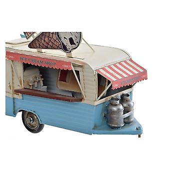 Véhicule Dekodonia Food Truck Vintage (27 x 13 x 20 cm)