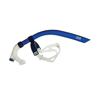 Zoggs Swim Centre Line Snorkel - Blue/Clear