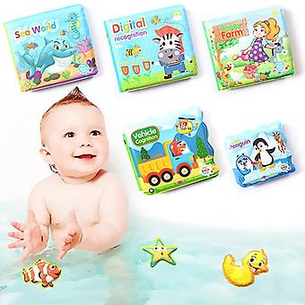 Baby Bath Kirjat Vauva Koulutus Lelu Älykkyys Kehitys EVA Kelluva Cognize Kirja