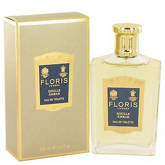 Floris Soulle Ambar Eau De Toilette Spray Floris 3,4 oz Eau De Toilette Spray