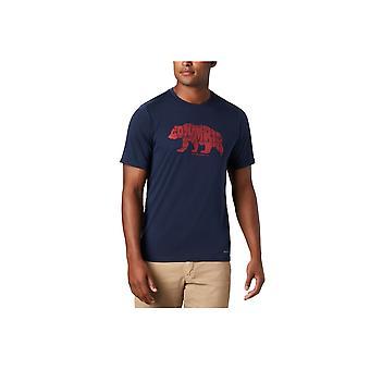Columbia Terra Vale 1888843464 universell hele året menn t-skjorte