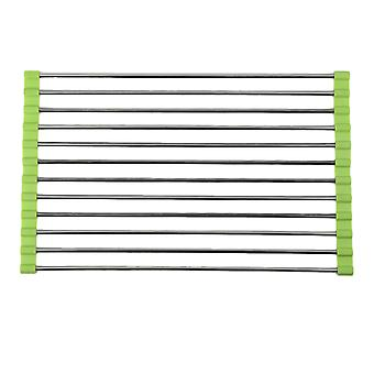 Eco-friendly Stainless Steel Portable Folding Drain Rack