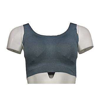 Rhonda Cizalla un sujetador de cuerpo invisible azul 700646