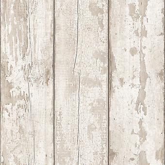 Artistick madera lavada en blanco autoadhesivo Papel pintado Arthouse 300205 6m x 0.53m