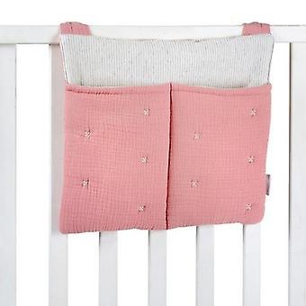 Pink Tetra Bomuld Ble Taske