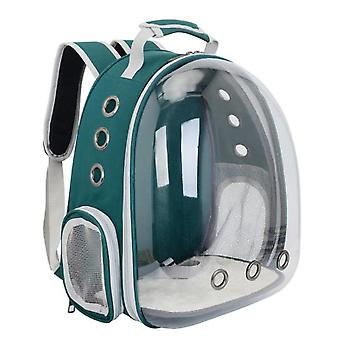 Cat Carrier Backpack,Space Capsule Knapsack Pet Travel Bag Waterproof Breathable