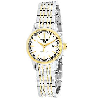 Tissot Women's Carson White Dial Watch - T0852072201100