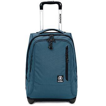 TROLLEY INVICTA - TINDY - Avion Blue - 36 LT - bretelles rétractables! Utilisation de l'école et sac à dos de voyage