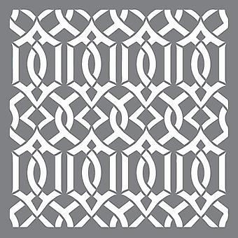 Decoart Stencil - Lattice