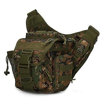Outdoor Shoulder Bag, Waterproof Oxford 20l Tactical Hiking Chest Bag