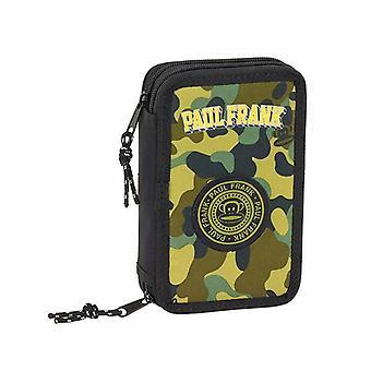 Double Pencil Case Paul Frank (28 pcs)