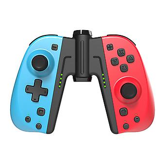 Controlador sem fio para Nintendo Switch, PowerLead Joystick Joypad Gamepad Substituto para Nintendo Switch - Suporte Turbo / Vibração / Eixo Gyro / Marco Definition (Vermelho Azul)