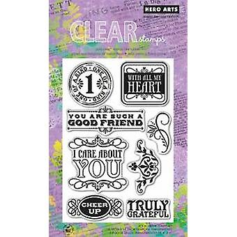 Hero Arts Cheer Up - Clear Stamps