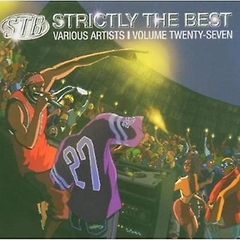 Strengt importerer bedst - Vol. 27-Strictly bedste [CD] USA