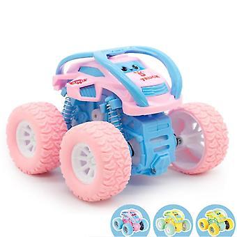 Mini inertial off-road køretøj, Pullback legetøj, plast friktion Stunt Bil, Kids