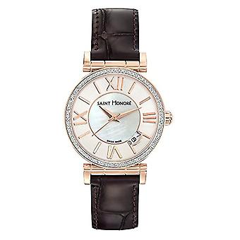 Saint Honore Analog Watch Quartz For Women with Leather Strap 7520128YRR