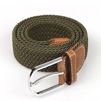 Высококачественные модные эластичные холстовые ремни