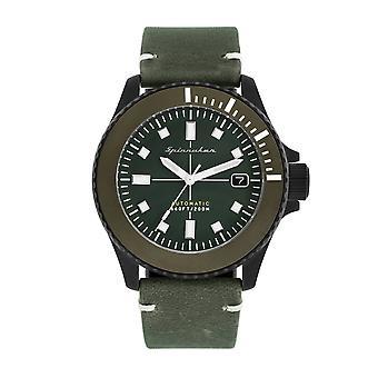 Spinnaker SP-5063-03 Gent's Spence Green Dial Wristwatch