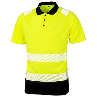 Result Genuine Recycled Mens Safety Polo Shirt