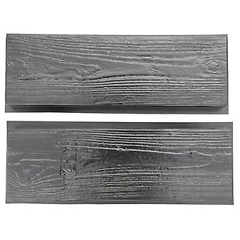 تقليد الخشب الحبوب DIY صانع المسار رصف الاسمنت الطوب العفن