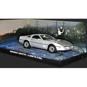 Chevrolet Corvette (1984) Diecast modell bil från James Bond en syn på en Kill