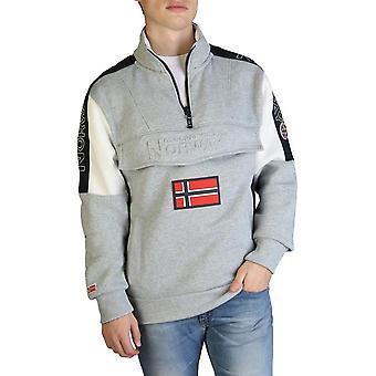 Geografisch Noorwegen - Kleding - Sweatshirts - Fagostino007-man-lggrey - Heren - Zilver - L